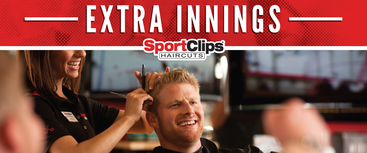 The Sport Clips Haircuts of Mesa Extra Innings Offerings