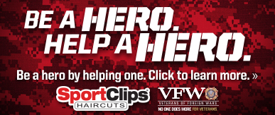Sport Clips Mesa​ Help a Hero Campaign